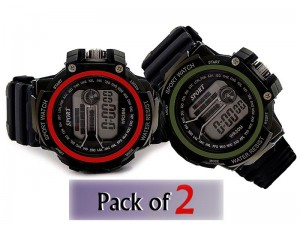Pack of 2 Kids Digital Sports Watches Price in Pakistan