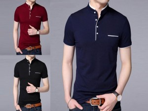 Pack of 3 Round Collar Half Sleeves T-Shirts Price in Pakistan