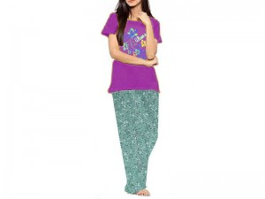 Ladies Nightwear Pajama & T-Shirt
