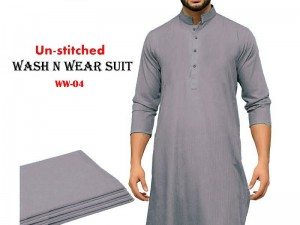 Wash N Wear Un-Stitched Men's Suit WW-04 Price in Pakistan