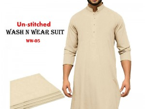Wash N Wear Un-Stitched Men's Suit WW-05 Price in Pakistan