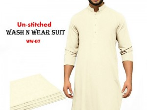 Wash N Wear Un-Stitched Men's Suit WW-07 Price in Pakistan