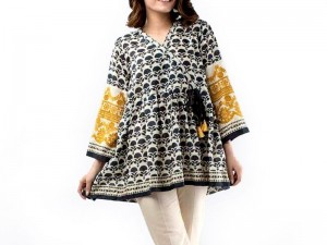 Multicolor Printed Cotton Kurti Price in Pakistan