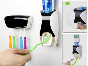 Automatic Toothpaste Dispenser with Toothbrush Holder Price in Pakistan
