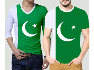 Pack of 2 14th August Independence Day T-Shirts Price in Pakistan