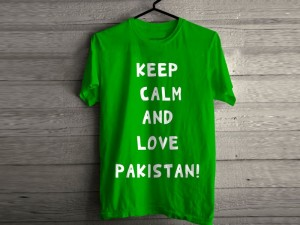 Independence Day Half Sleeves Green T-Shirt Price in Pakistan