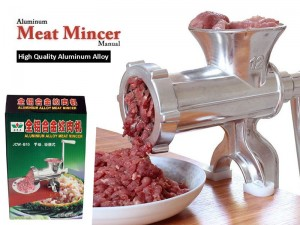 Aluminium Manual Meat Mincer Machine