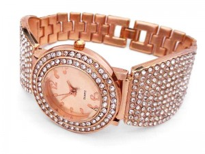 Rose Golden Women's Bracelet Watch Price in Pakistan