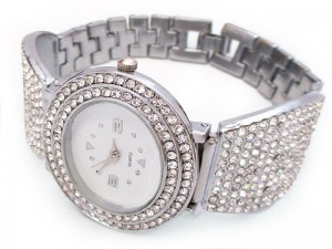 Silver Women's Bracelet Watch Price in Pakistan