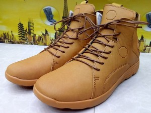 Mustard Color Lace-Up Boots Price in Pakistan