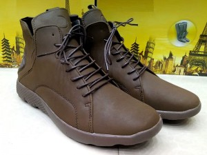 Brown Color Lace-Up Boots Price in Pakistan