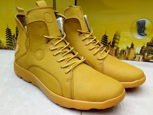 Yellow Color Lace-Up Boots Price in Pakistan