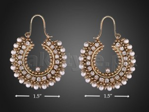 Antique Color Pearl Earrings