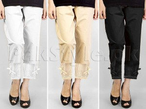 Pack of 3 Bow Style Cigarette Pants Price in Pakistan