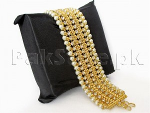 Pearls Golden Hand Kalai Bracelet Price in Pakistan