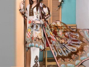 Embroidered Linen Dress Price in Pakistan