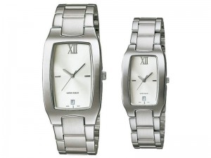 Elegant Couple Watches - While Dial Price in Pakistan