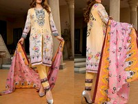 ZS Textile RangReza Lawn 2019 with Lawn Dupatta ZS-3A Price in Pakistan