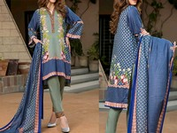 ZS Textile RangReza Lawn 2019 with Lawn Dupatta ZS-5A Price in Pakistan