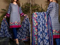 ZS Textile RangReza Lawn 2019 with Lawn Dupatta ZS-7A Price in Pakistan