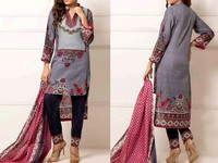 ZS Textile RangReza Lawn 2019 with Lawn Dupatta ZS-9B Price in Pakistan