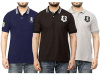 Pack of 3 Men's Polo Shirts Price in Pakistan
