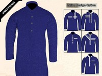 Un-Stitched Printed Mens Kurta - Royal Blue Price in Pakistan