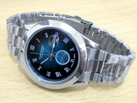 Elegant Men's Blue Dial Date Watch Price in Pakistan