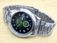 Elegant Men's Green Dial Date Watch Price in Pakistan