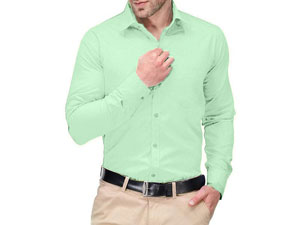 Men's Regular Fit Plain Shirt Price in Pakistan