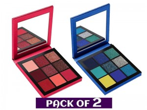 Pack of 2 Huda Beauty Eyeshadow Palettes Price in Pakistan