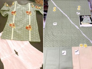 Kids 2-Pcs Embroidered Chikankari Lawn Dress Price in Pakistan