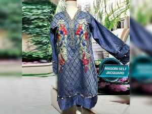 Designer Embroidered Ready-to-Wear Masoori Kurti