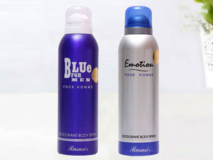 Pack of 2 Rasasi Deodorants for Men - 200ML Price in Pakistan