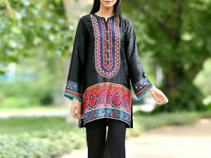 Embroidered Black Khaddar Dress with Wool Shawl Dupatta Price in Pakistan