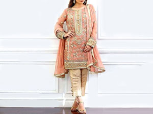 Heavy Handwork Embroidered Masoori Dress Price in Pakistan