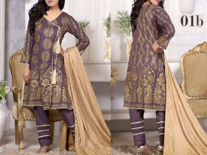 Mysoori Gold Banarsi Lawn Collection 2020 - 1B Price in Pakistan