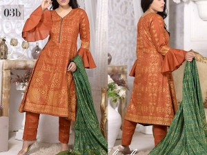 Mysoori Gold Banarsi Lawn Collection 2020 - 3B Price in Pakistan