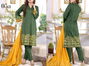Mysoori Gold Banarsi Lawn Collection 2020 - 5A Price in Pakistan