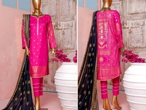 Block Print Banarsi Lawn Collection Price in Pakistan