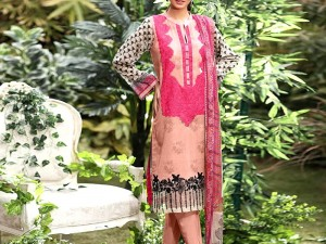Heavy Embroidered Lawn Suit 2020 with Lawn Dupatta Price in Pakistan