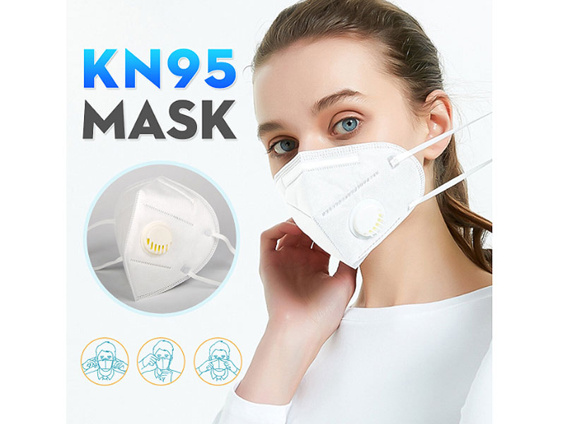 Reusable N95 Face Mask with Filter