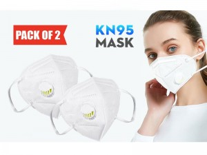 Pack of 2 Reusable KN95 Masks with Filter Price in Pakistan
