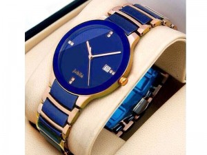 Men's Centrix Jubile Watch - Two Tone Blue