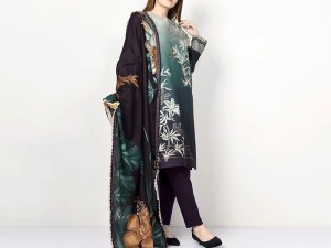 Elegant Embroidered Lawn Dress 2020 with Lawn Dupatta Price in Pakistan