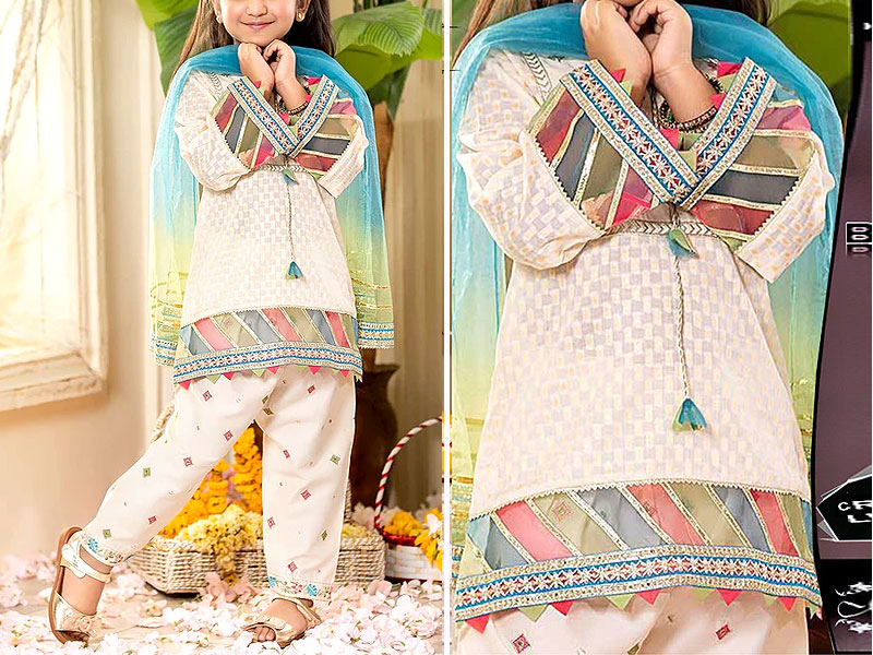 Kids 2-Pcs Embroidered Lawn Dress 2020 Price in Pakistan
