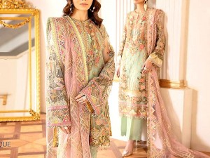 Luxury Heavy Embroidered Net Party Dress 2020 Price in Pakistan