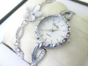 Elegant Watch & Bracelet Gift Set