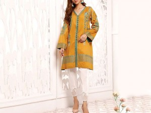 2-Pcs Embroidered Linen Dress Price in Pakistan