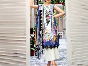 Embroidered Linen Suit with Linen Dupatta Price in Pakistan